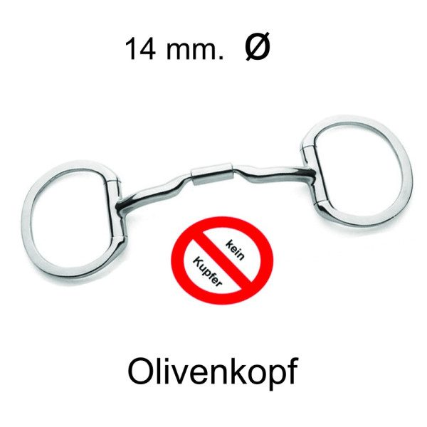 Olivenkopf MS. 04-kupferfrei (Level 2)